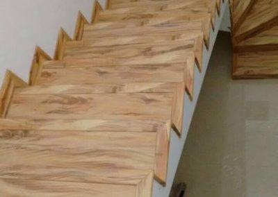 Piso Laminado Escada